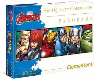 Clementoni 39410 - Impossible Marvel Panorama - 1000 Teile Puzzle