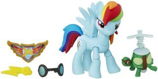 Hasbro My Little Pony B7295ES0 Guardians of Harmony Rainbow Dash, Figur