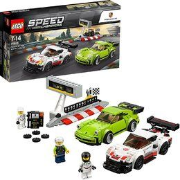 LEGO® 75888 Speed Champions Porsche 911 RSR und 911 Turbo 3.0