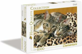 Clementoni 39237.7 - Puzzle High Quality Collection, Die Katzenaugen, 1000 Teile
