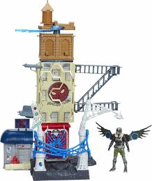 Hasbro 89692 UK-Marvel -Spider-Man-Man: Heimkehr Geier Attack Set