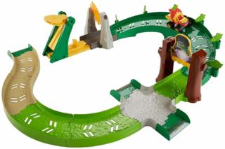 Mattel FPM21 - Blaze and The Monster Machines - Wild Wheels, Die-Cast Slam Action Track-Set