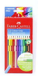 FABER-CASTELL Farbstifte Colour GRIP 12er-Etui