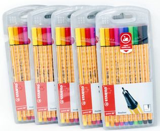 Fineliner - STABILO point 88-10 Farben 10er Pack (Bunt)