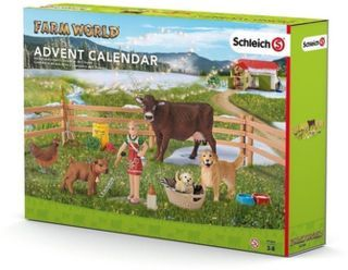 Schleich 97355 - Farm World - Adventskalender Bauernhof