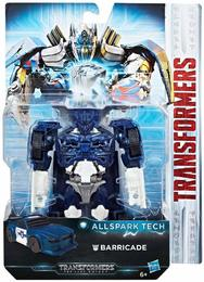 Hasbro C3419 - Transformers - The Last Knight - Allspark Tech Action Figur, Barricade