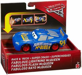 Mattel DYW42 - Disney - Cars 3 - Super-Crashers, Fabulous Lightning McQueen