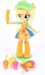 My little Pony B9474 Figur Equestria Girl Puppe Deluxe Apple Jack 10 cm