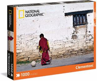 Clementoni 39355 - National Geographic - Puzzle 1000 Teile, Young Buddhist Monk