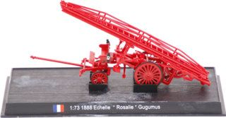 Echelle Rosalie Gugumus 1888 brandweer Del Prado collection 1:73