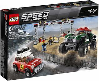 LEGO®Speed Champions 75894 Rallyeauto 1967 Mini Cooper S und Buggy 2018 Mini John Cooper Works