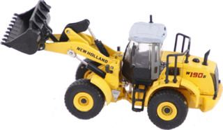 NEW HOLLAND W190B Bulldozer Die-Cast Fertigmodell Maßstab H0 1:87