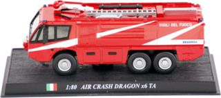 Air Crash Dragon x6 TA brandweer Del Prado collection 1:80