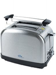 Elta Toaster Edelstahl Cool Touch / Elta ToasterStainless Steel Cool Touch 850-1000W