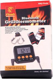 Flash Bluetooth Grillthermometer Grill Thermometer smart mit app Barbecue BBQ