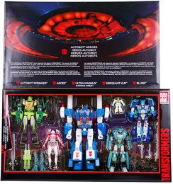 HASBRO® B6640 Transformers Platinum Edition Autobot Heroes Exclusive Pack
