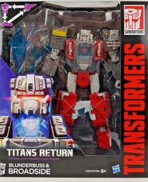 Hasbro C0277EU4 Transformers Generations Titans Returns Voyager Class Blunderbuss und Broadside