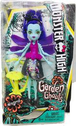 Monster High Mattel FCV48 - Garten-Monsterfreundinnen Insekt Wingrid - Eine Libelle, Puppe