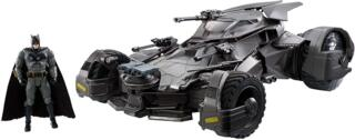 Mattel FRL54 - DC Justice League Movie RC Deluxe Batmobil mit 15 cm Batman Actionfigur, für Sammler, Actionfiguren Spielset
