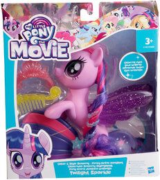 Hasbro My Little Pony C1831ES0 - Glitzernde Seeponys Stylingspaß Twilight Sparkle