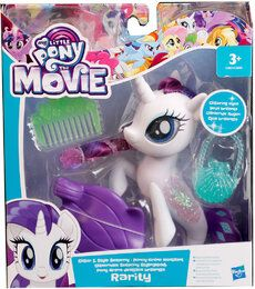 Hasbro My Little Pony C1831ES0 - Glitzernde Seeponys Stylingspaß Pony Rarity