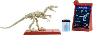 Mattel Jurassic World Fossil Strikers Velociraptor Figure Englisch Version [FTF06]