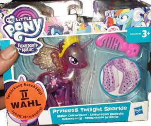 My Little Pony – Princess twilight sparkle - My Little Pony Glitzerparty Prinzessinnen 2.Wahl