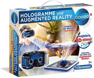 Clementoni 59033 - Galileo Science - Hologrammeund Augmented Reality