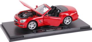 DIV 18046W - Welly - 2012 Mercedes-Benz SL500  1:18, rot