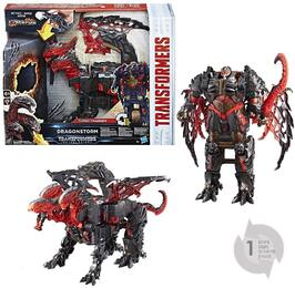 Hasbro C0934EU40 - Transformers - The Last Knight,Turbo Changer, mit Licht und Sound, Dragonstorm