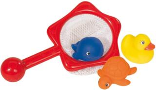 Simba 104015478 - Baby Play and Learn - Badetiere mit Netz