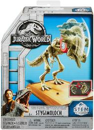 Mattel Jurassic World Fossil Strikers Stygimoloch Figure Englisch Version [FTF08]