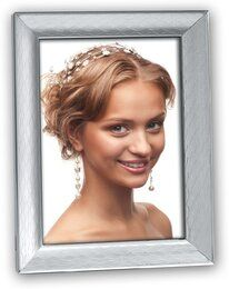 Zep S.R.L 148S02-4R Metal Photo Frame, 10 X 15 Cm