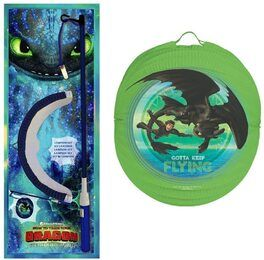 DIV 08702 UK - Dreamworks Dragons Laternen-Set, Ø ca. 24,5cm - elektrisch