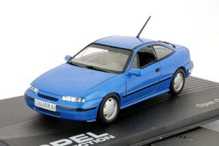 Opel Calibra Coupe V6 Blau 1993-1997  1:43