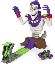 Monster Jam 6046632 Grim Take Down Spielset