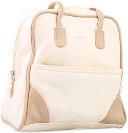 fe188efc3f7ca City Rucksack Tasche für Damen aus der Alessandro Collection in Creme    Beige