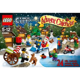 LEGO® City Adventskalender Weihnachtsaktion - LEGO® City 60063
