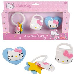 Simba Toys Hello Kitty 3-er Rasselset