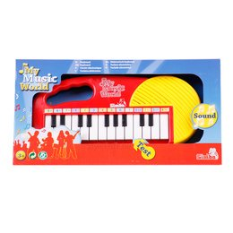 My Music World Keyboard von Simba Toys in Rot