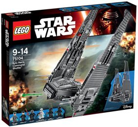 LEGO® Star Wars Kylo Ren's Command Shuttle - LEGO® Star Wars 75104
