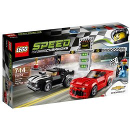 LEGO® Speed Champions Chevrolet Camaro Drag Race - LEGO® 75874