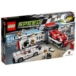 LEGO® Speed Champions Porsche 919 Hybrid and 917K Pit Lane - LEGO® 75876