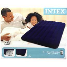 Intex Luftbett Classic Downy Blue Full 137 x 191 x 22 cm -  168758