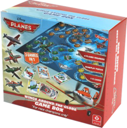 Disney Planes Game Box - Wings around the Globe