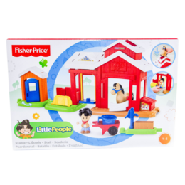 Mattel BFT86 - Fisher Price Little People Pferdestall