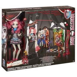 Mattel CHW68 - Monster High - Rochelle Goyle & Monster Manege