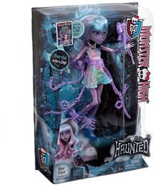 Mattel Monster High CDC32 - Verspukt Geisterschüler River Styxx Puppe