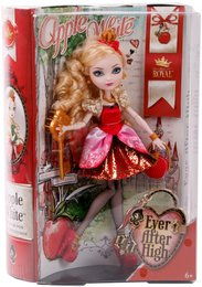 Ever After High Apple White Royal Puppe von Mattel - BFX26