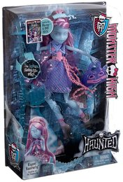 Mattel Monster High CDC33 - Verspukt Geisterschüler Kiyomi Haunterly Puppe